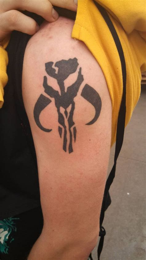 mandalorian tattoo 43 best tattoos images on ideas small