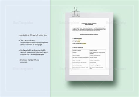 sales commission policy template 8 sales commission policy sles templates free psd