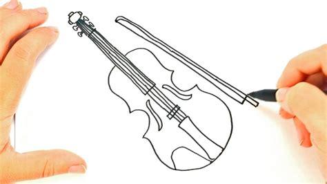 imagenes a lapiz de violines como dibujar un violin paso a paso dibujo f 225 cil de