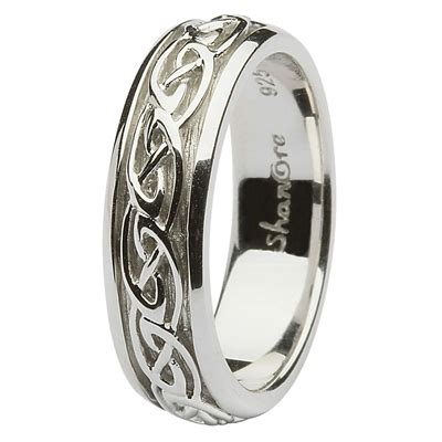 celtic wedding rings sl sd10
