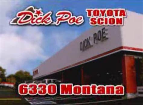 Poe Toyota Poe Toyota El Paso Tx 79925 Car Dealership And