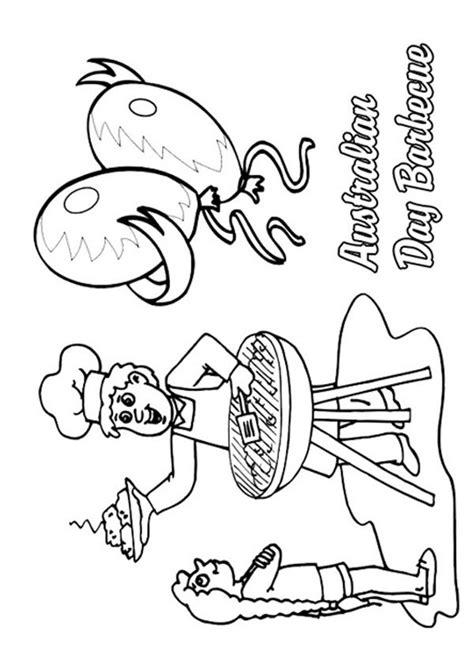 christmas koala coloring page 16 best australia day images on pinterest australia day