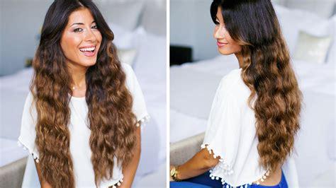 heatless wavy hairstyles mermaid curls hairstyles www pixshark com images