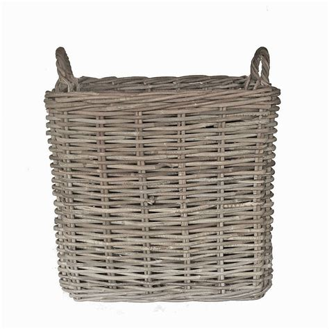 rattan baskets rattan basket assorted sizes by idyll home