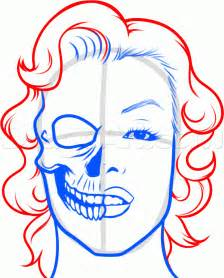 How to draw an easy skull step by step skulls pop culture free