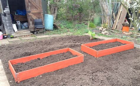 raised kids bed a family allotment adventure growing family