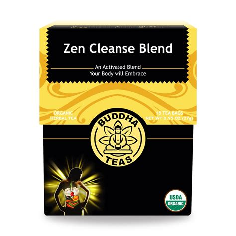 Buddha Leaf Berry Detox by Buy Zen Cleanse Tea Bags Enjoy Health Benefits Of