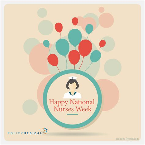 week psd template for cards happy national nurses week policymedical