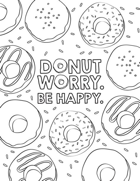 sprinkle donut coloring page 3 donut birthday coloring pages personalized coloring