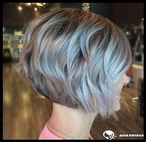 graue kurze frisuren und haarschnitte fuer frauen