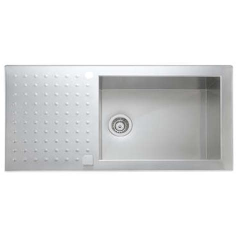 Evier Inox 1 Grand Bac by Evier 1 Grand Bac 1 233 Gouttoir Opus Ev69011il Inox Vente