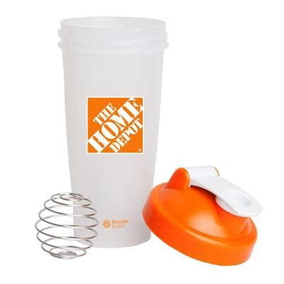 the home depot 28 oz blender bottle shaker in orange