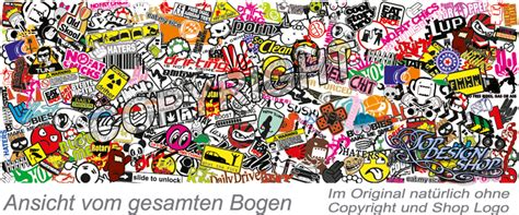 Folien Aufkleber by Sticker Bomb Folie Car Wrapping Stickerbomb Klebefolie