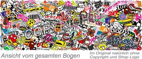 Stickerbomb Aufkleber by Sticker Bomb Folie Auto Tuning Stickerbombing