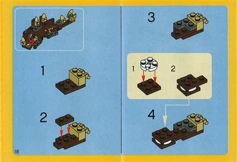 printable lego animal instructions lego animal building set instructions 4916 creator