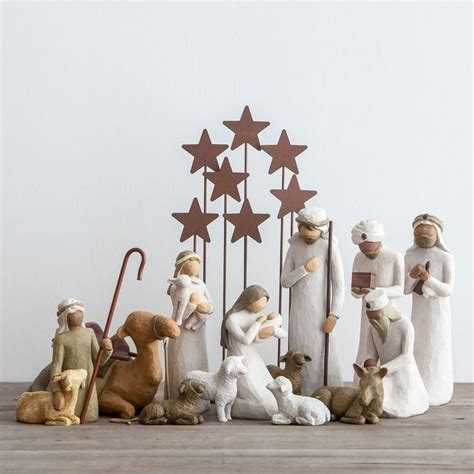 1000 ideas about willow tree nativity set on pinterest