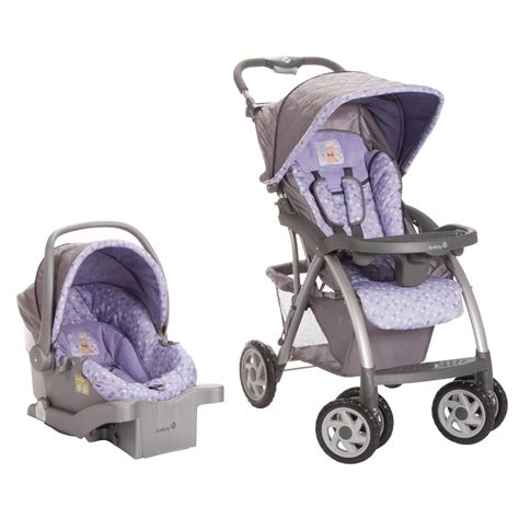purple and gray stroller and carseat disney winnie the pooh garden travel system purple shop
