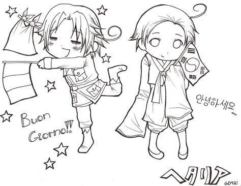 Hetalia Coloring Page 2 By Hetaliarules12 On Deviantart Hetalia Coloring Pages