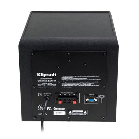 promedia 2 1 bluetooth computer speakers at klipsch wiring
