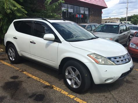 03 Nissan Murano by Nissan Murano 2003 For Sale Savings From 6 219