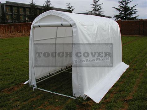 1 6m wide mini fabric storage sheds with certificate of