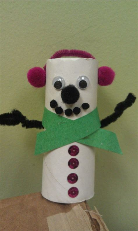 Snowman Toilet Paper Roll Craft - 193 best images about snowman at on