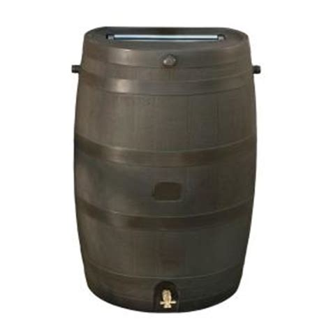 rts home accents 50 gal barrel with brass spigot