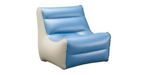 blow up recliner coleman inflatable furniture