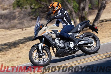 2016 Honda CB500X Review   Compact Sized Adventure Bike