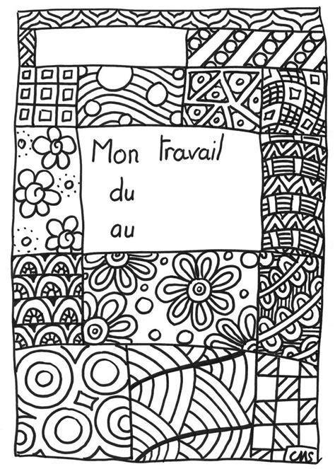 Coloriage Page De Garde Page De Garde Cahier Et Collant Dessin De Coloriage Klimt Gratuit Cp L