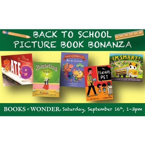 back to school picture books back to school picture book bonanza kid on the town