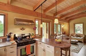A Frame Kitchen Ideas Gallery River Road House A Beautiful Timber Frame