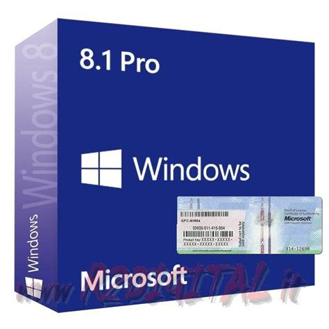 Windows 8 1 Pro Oem 64bit windows 8 1 professional dvd adesivo win pro oem pack
