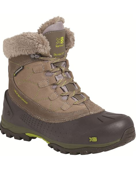 womens karrimor snowfur 2 boot brown snow boots outdoor