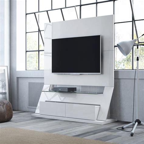 manhattan comfort manhattan comfort intrepid white gloss entertainment