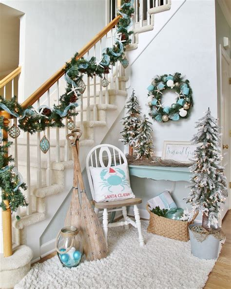 17 best ideas about coastal christmas decor on pinterest