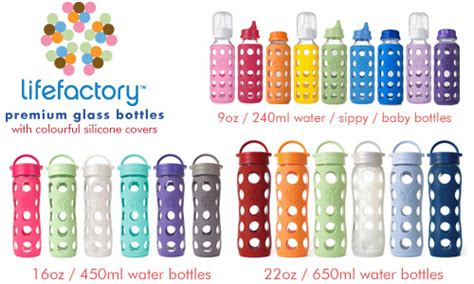 Sarung Cap Botol lifefactory australia glass water bottles and lunch