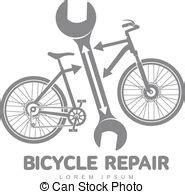 Werkstatt Vektor by Reparatur Fahrrad Werkstatt Vektor Schablone Logo