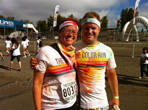 color run portland a cloth the color run portland date morning