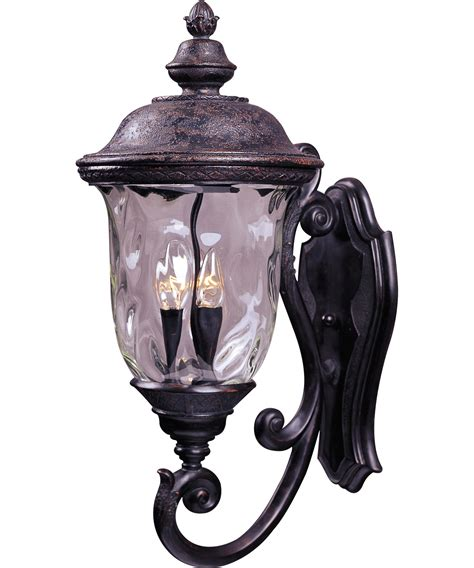 Carriage House Lighting Fixtures Maxim Lighting 40424 Carriage House Vx 3 Light Outdoor Wall Light Capitol Lighting 1