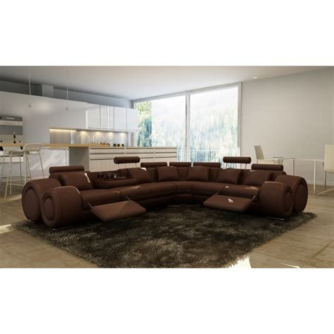 leather sectional sofas with recliners modern leather sectional sofa with recliners
