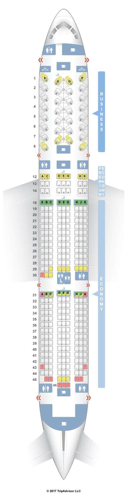 seatguru seat map air canada boeing 787 9 789