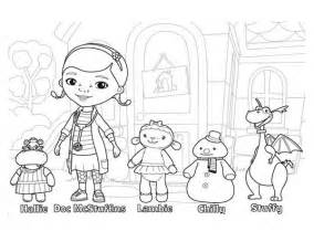 free coloring pages doc mcstuffins halloween 14108