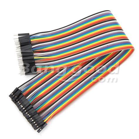 Kabel Jumper Efek Gitar 30cm 2 120st 30cm mannelijk naar vrouw jumper kabel dupont draad voor arduino aanbiedingen banggood