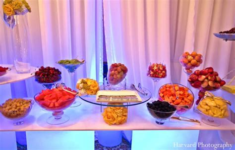 food tables at wedding reception indian wedding food table ideas