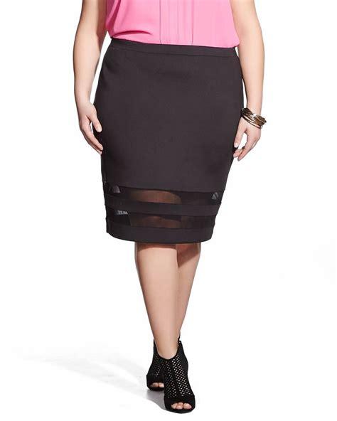 Dara Skirt Bigsize plus size pencil skirt plus sizes reitmans