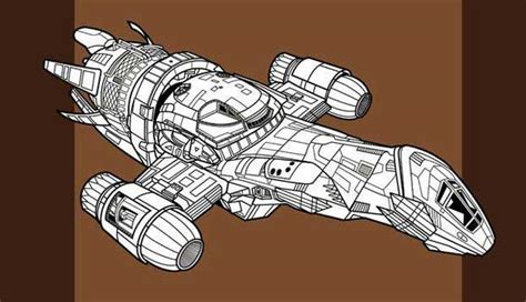 Firefly Papercraft - firefly detailed firefly class transport spaceship