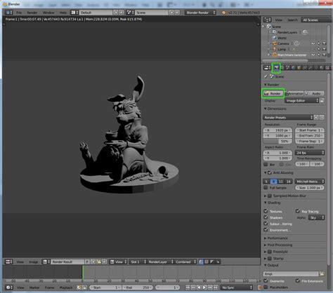 tutorial blender render tutorial rendering in blender 3d printing tutorials
