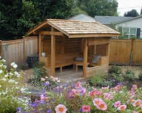 backyard shelters 17 best images about tiny tea house on gardens