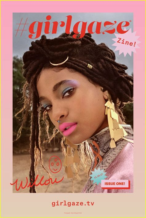 girlgaze how girls see 0847860892 willow smith looks stunning in girlgaze zine cover shoot photo 1124132 photo gallery